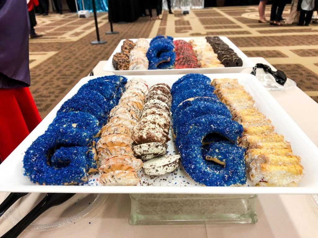 Delicious Georgetown cookies provided at the BGE reception