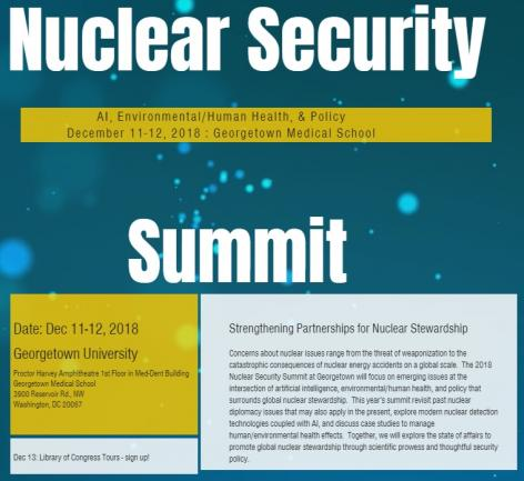 Nuclear Security Summit flier